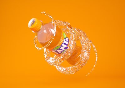 Fanta orange 1080p splash