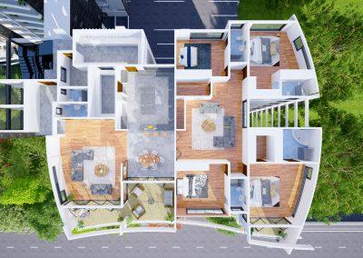 Treewall 3d floor plan